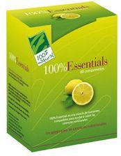100% Natural 100% Essentials 60 comprimidos