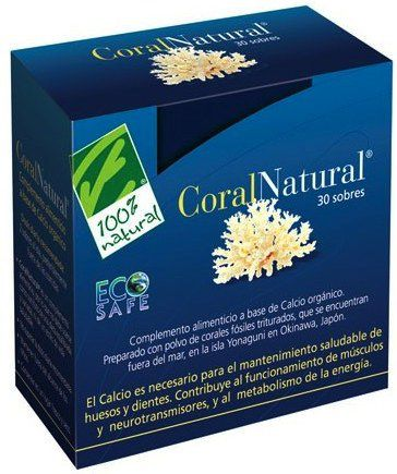 100% Natural CoralNatural 30 sobres