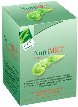 100% Natural NutriMK7 45mcg 60 perlas