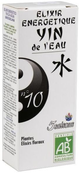 5Saisons Elixir Nº10 Yin del Agua 50ml