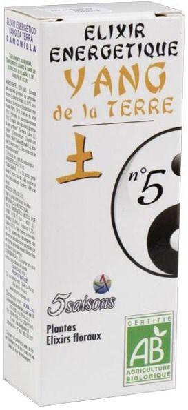 5Saisons Elixir Nº5 Yang de la Tierra 50ml