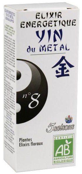 5Saisons Elixir Nº8 Yin del Metal 50ml