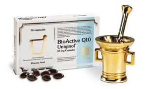 BioActive Q10 Uniqinol 100mg 60 cápsulas