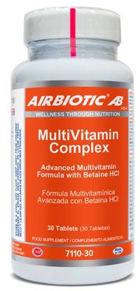 Airbiotic Multivitamin Complex 30 comprimidos