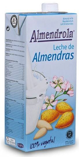 Almendrola Leche Almendras Tradicional 1L