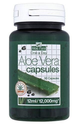 Aloe Pura Aloe Vera Doble Fuerza 30 cápsulas