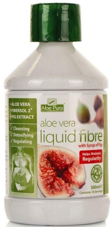 Aloe Pura Zumo Aloe Vera-Fibra Líquida-Higo 500ml