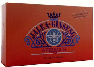 Apiregi G Jalea Real y Ginseng 20 ampollas