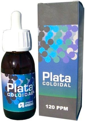 Argenol Plata Coloidal 120ppm 150ml