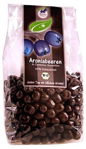 Aronia Original Bayas Secas Aronia con Chocolate Negro Bio 200g