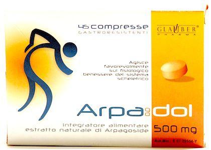 Glauber Pharma Arpagodol 45 comprimidos