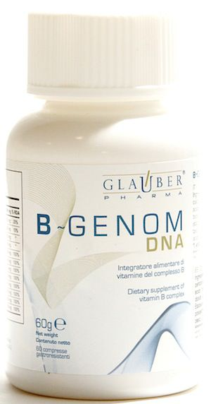 Glauber Pharma B-Genom DNA 60 comprimidos