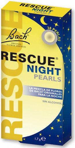 Flores de Bach Rescue Night 28 Pearls