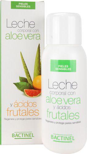 Bactinel Leche Corporal Aloe Vera y Ácidos Frutales 300ml