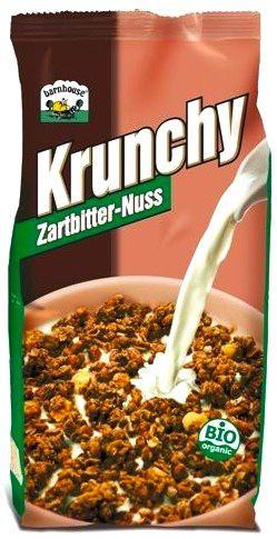 Barnhouse Muesli Krunchy Chocolate Negro Avellana Bio 375g