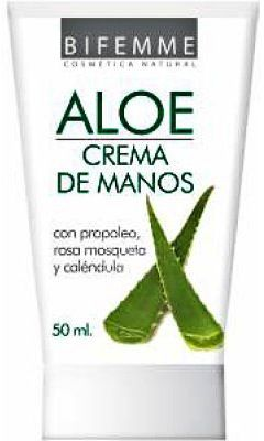 Bifemme Crema de Manos Aloe Vera 50ml