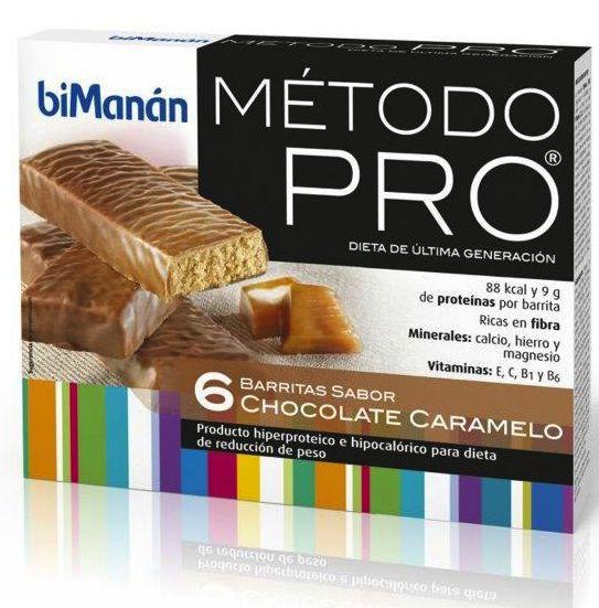 Bimanan Pro 6 Barritas Chocolate-Caramelo