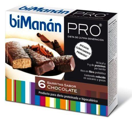 Bimanan Pro 6 Barritas Chocolate