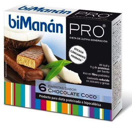 Bimanan Pro 6 Barritas Chocolate-Coco