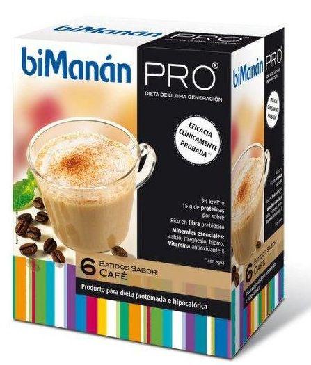 Bimanan Pro Batido Café 6 sobres