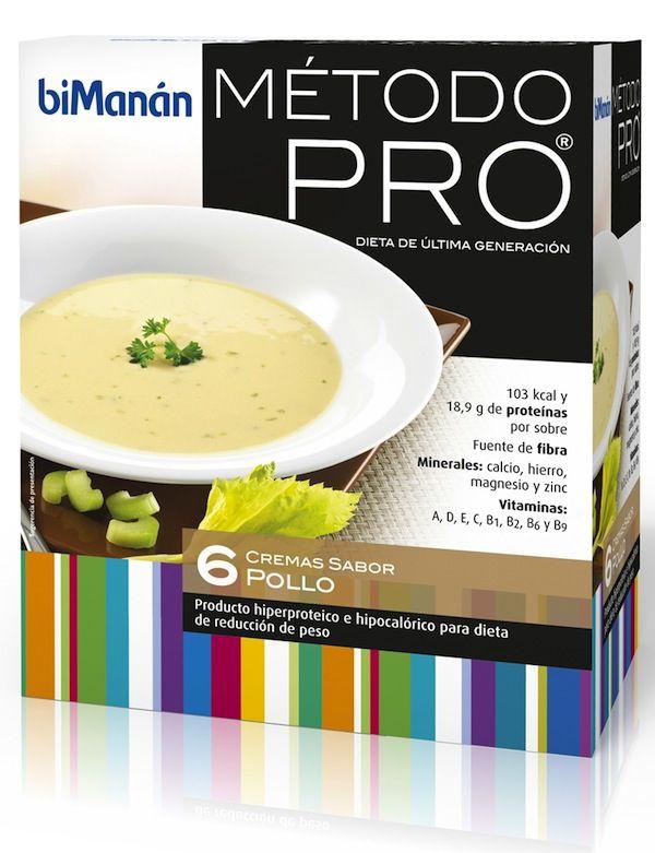 Bimanan Pro Crema Pollo 6 sobres