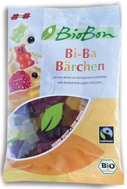 Biobon Gominolas Ositos Zumo Frutas Bio 100g