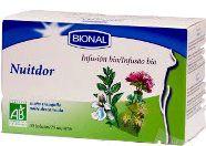 Bional Nuitdor Infusión Bio 20 sobres