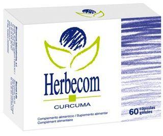 Bioserum Herbecom Cúrcuma 60 cápsulas