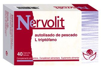 Bioserum Nervolit 40 cápsulas