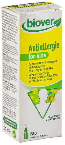 Biover Antialergia Niños Spray 20ml