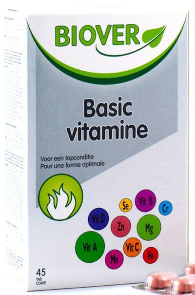 Biover Basic Vitamine 45 comprimidos
