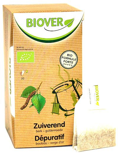 Biover Depurativo Infusión 20 sobres