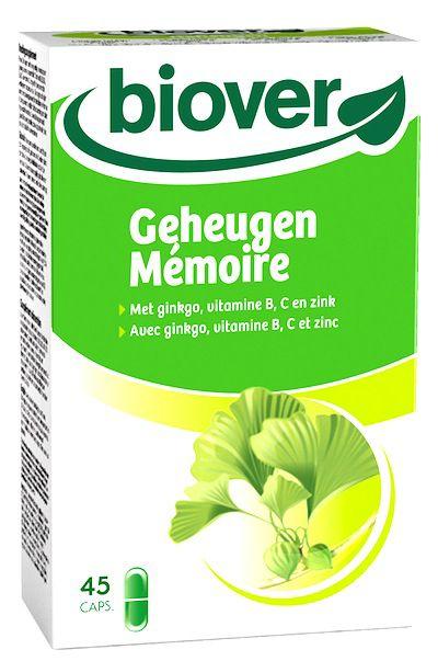 Biover Ginkgo Memoplex 45 cápsulas