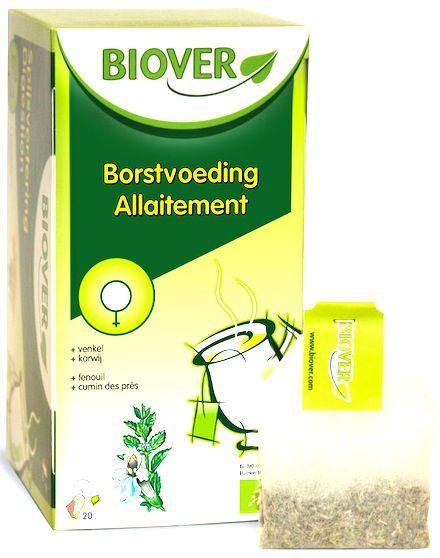 Biover Lactancia Infusión 20 sobres