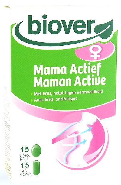 Biover Mamá Activa 15 cápsulas y 15 comprimidos