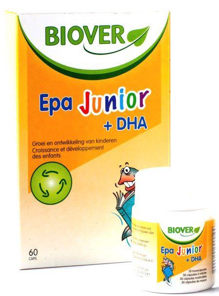 Biover EPA Junior y DHA 60 masticables