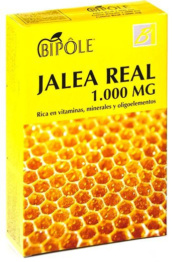 Bipole Jalea Real Fructosa 1000mg 20 ampollas