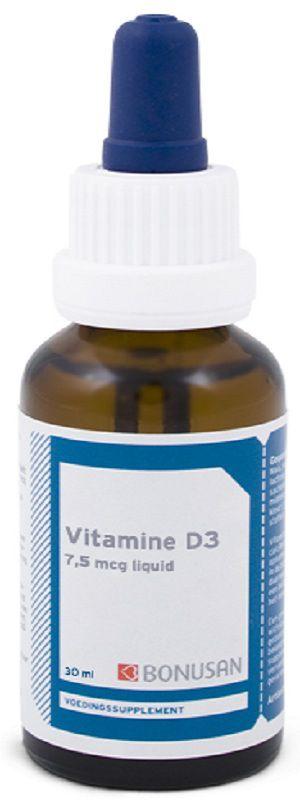 Bonusan Vitamina D3 7,5mcg gotas 30ml