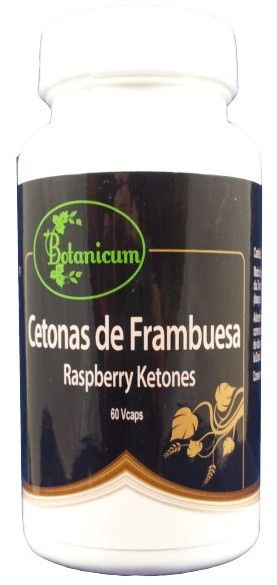 Botanicum Cetonas de Frambuesa 60 cápsulas