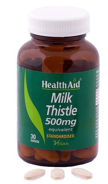 Health Aid Cardo mariano 500mg 30 comprimidos