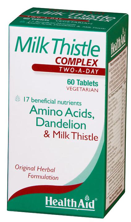 Health Aid Cardo mariano Complex 60 comprimidos