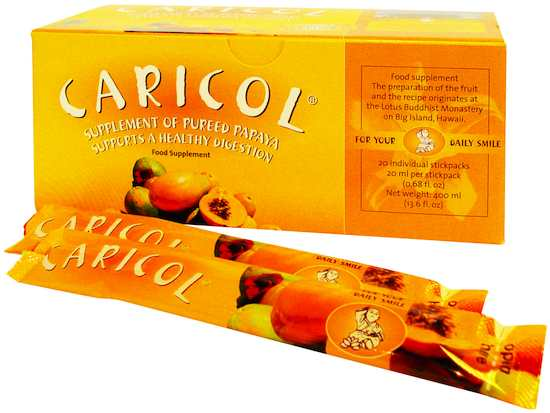 100% Natural Caricol 20 sobres