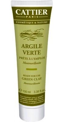 Cattier Arcilla Verde - Lista para Usar 100g