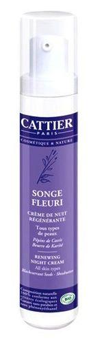Cattier Crema de Noche Reconstituyente - Songe Fleuri 50 ml
