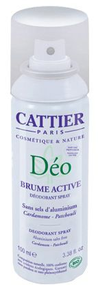 Cattier Desodorante Spray Brume Active 100ml