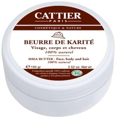 Cattier Manteca de Karité 100g