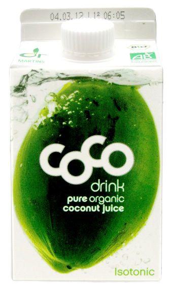 Coco Drink Natural-Agua de Coco 500ml
