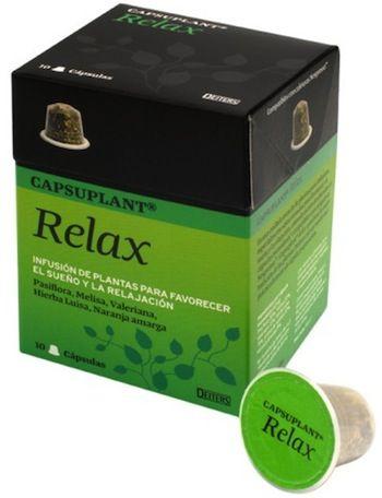 Deiters Capsuplant Relax 10 unidades compatibles Nespresso