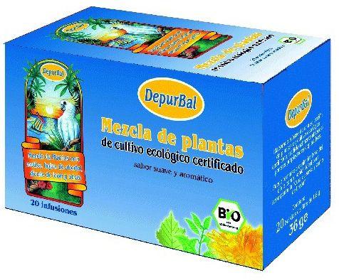 Depurbal Infusión Depurativa Bio 20 filtros