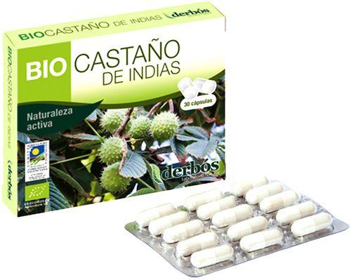 Derbos Bio Castaño de Indias 30 cápsulas